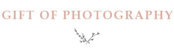 Calgary Photographer Baby Registry Gift Certificate