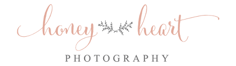 Honey Heart Photography logo rebrand